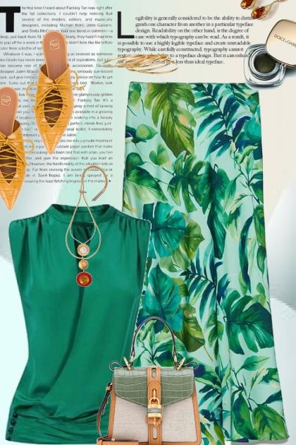 Tropical Zara Skirt