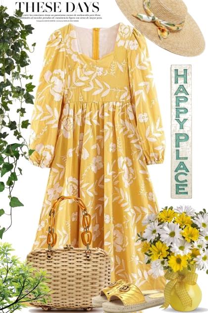 Happy Sunny Yellow