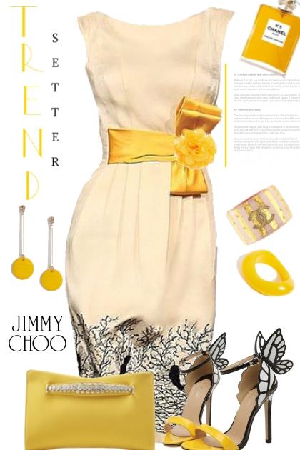 Fun Yellow Jimmy Choo