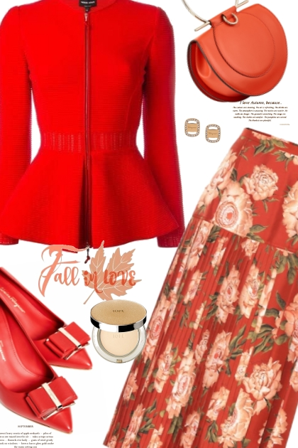 Salvatore Ferragamo Silk Skirt