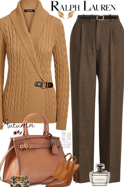Ralph Lauren Camel Sweater
