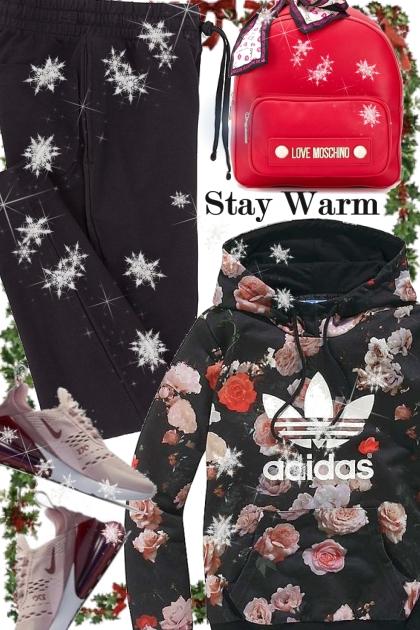 Adidas Floral Hoodie