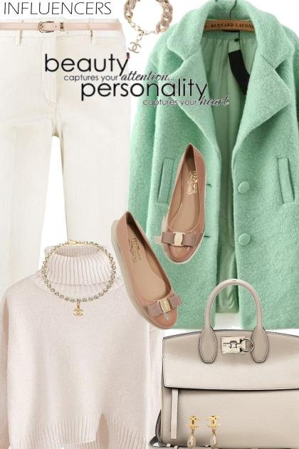 Mint Wool Coat