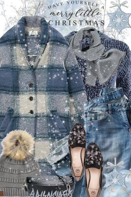 Isabel Marant Blue Check Coat