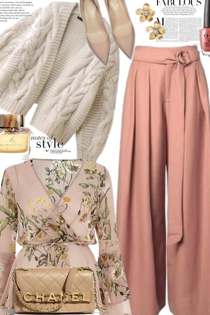Winter Florals - Fashion set