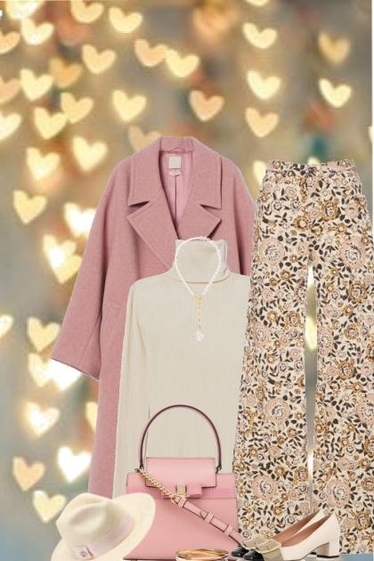 Winter Pink Coat