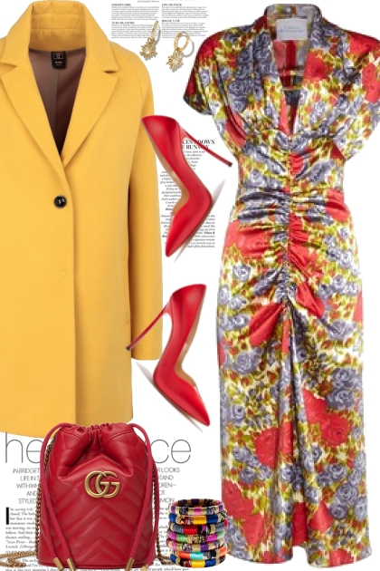 Bright Yellow Coat