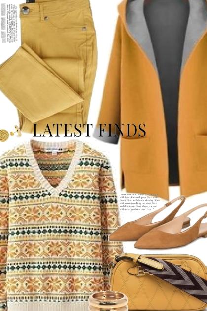 Winter Print Sweater