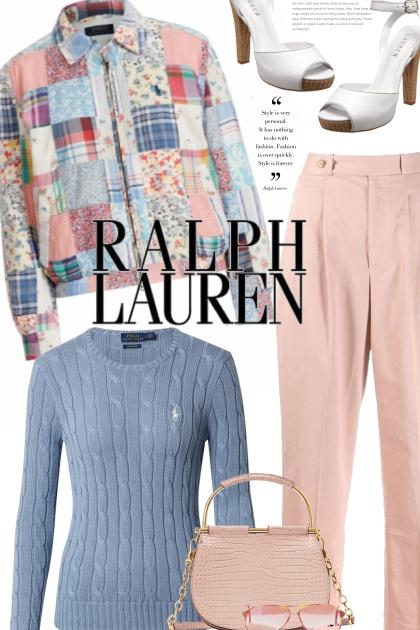 Patchwork Ralph Lauren Jacket