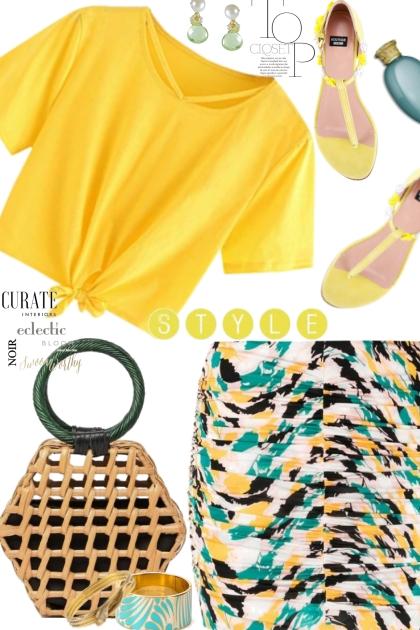 Moschino Yellow Sandals
