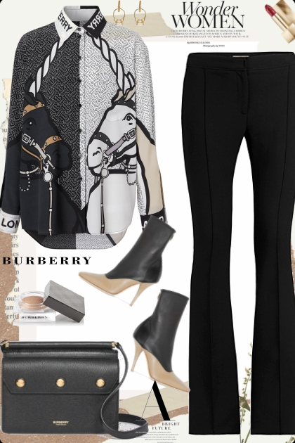 Burberry Horse Blouse
