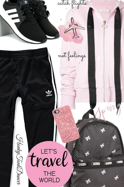 Comfy Traveling - Fashion set