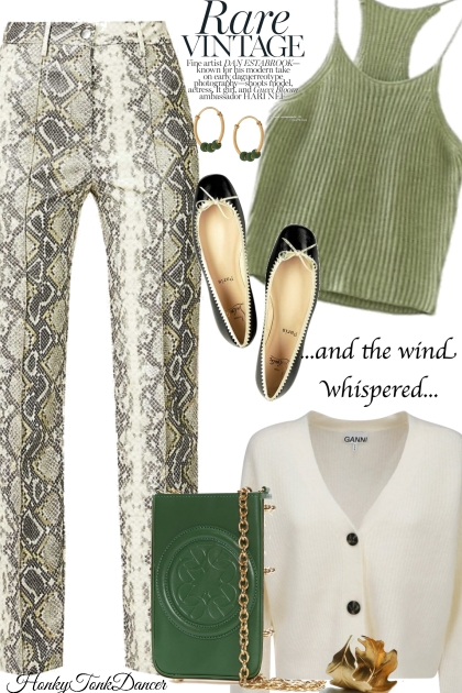 Green and Ivory