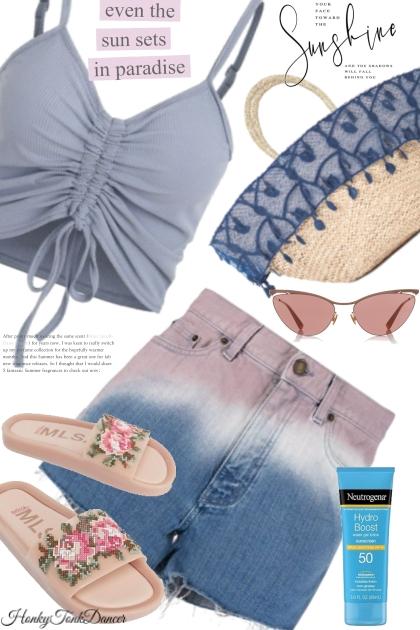 Day At The Beach - Fashion set
