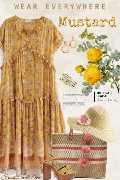 Mustard Summer Dress