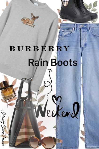 Burberry Rain Boots