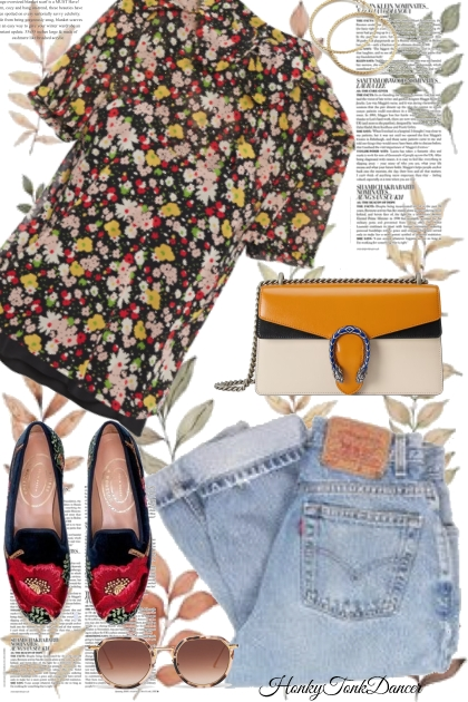 Fall Floral Top