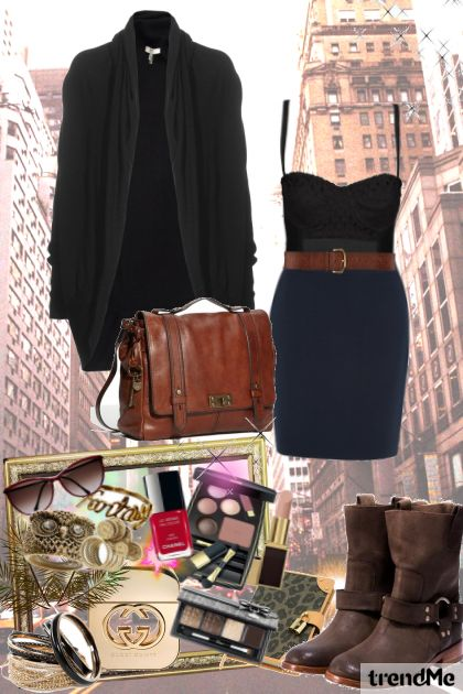 day in the city- Fashion set