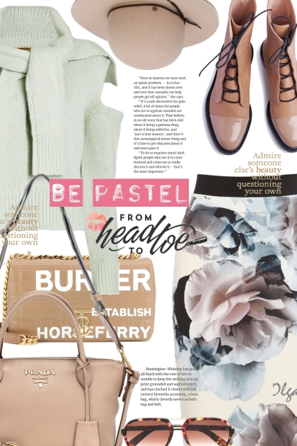 Be pastel from head to toe