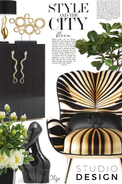 Roberto Cavalli home design I