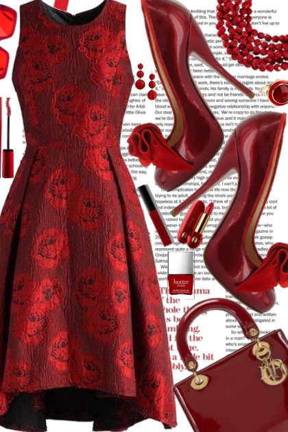 and red- Fashion set