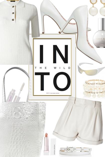 INTO White- Fashion set