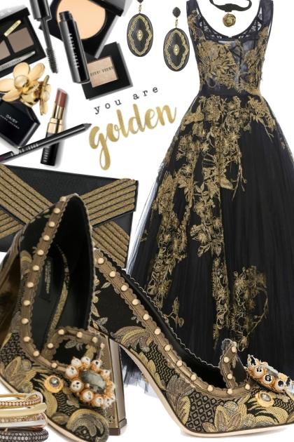 gold black 5