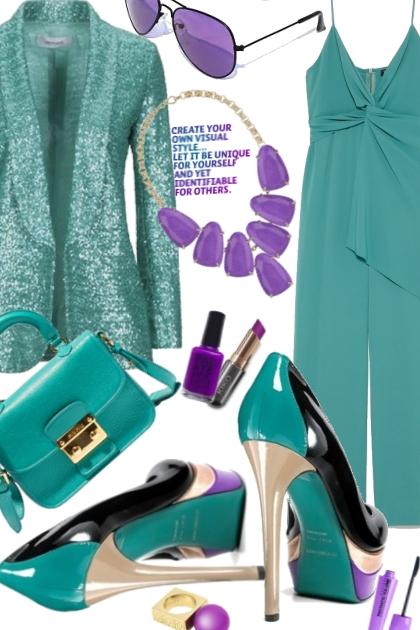 Cocktail verde- Modekombination