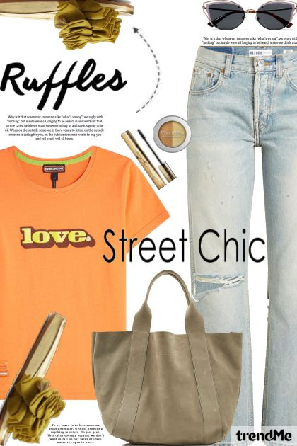 Street Chic: ruffles