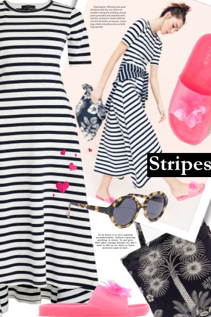 stripes dress 2