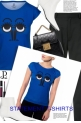 blue t-shirts 2