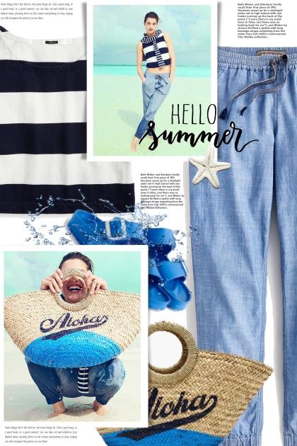 HELLO summer- Combinaciónde moda