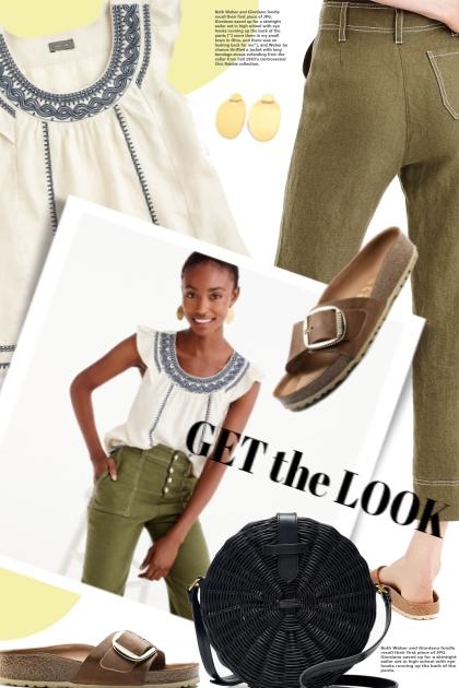 GET THE LOOK 2- Combinaciónde moda