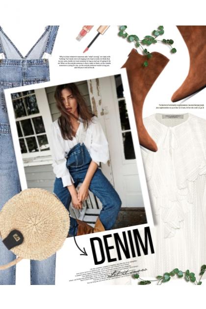 overall DENIM- Combinaciónde moda