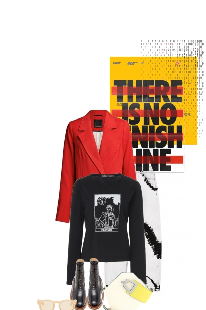 There is no finish line- Fashion set