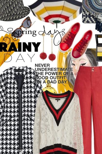 Spring days, rainy days