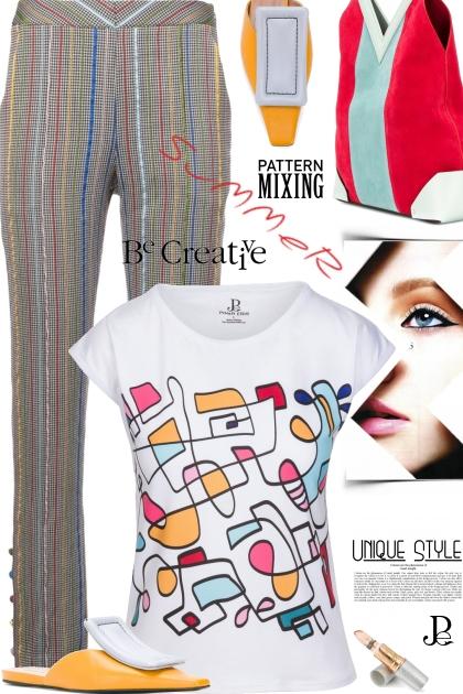Abstract Hand Drawn T-shirt