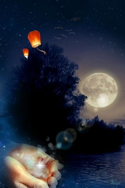 October Full Moon, for Kate