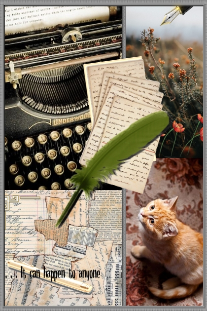 The Mystery of  the Writer's Cat... :)