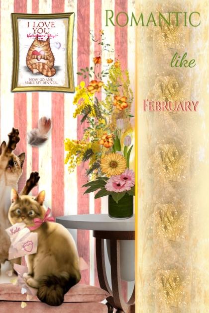Pink like February