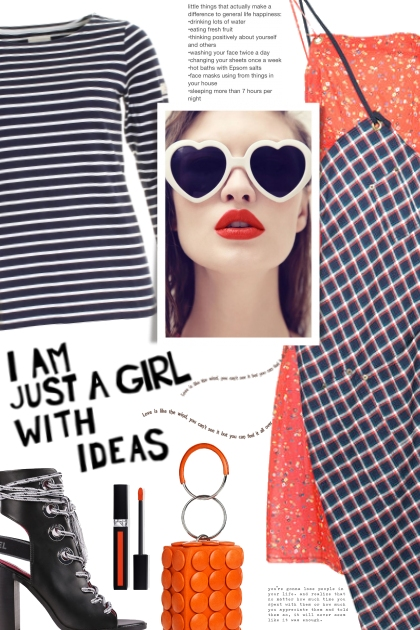 Girl with ideas