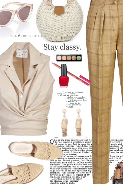 Stay classy.