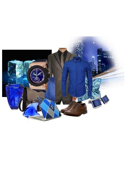 Jewel tones - sapphire - III