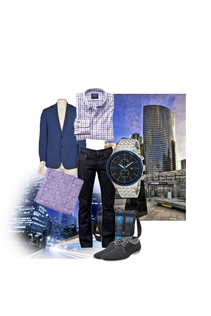 A day in the city- Fashion set