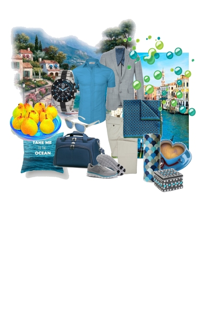 Bright turquoise - II