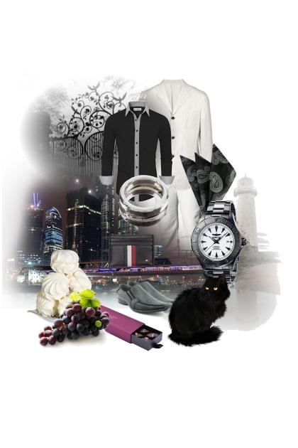 Black and White - semi-casual