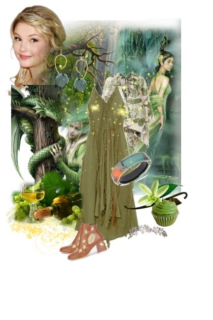 Halloween - Green Magic