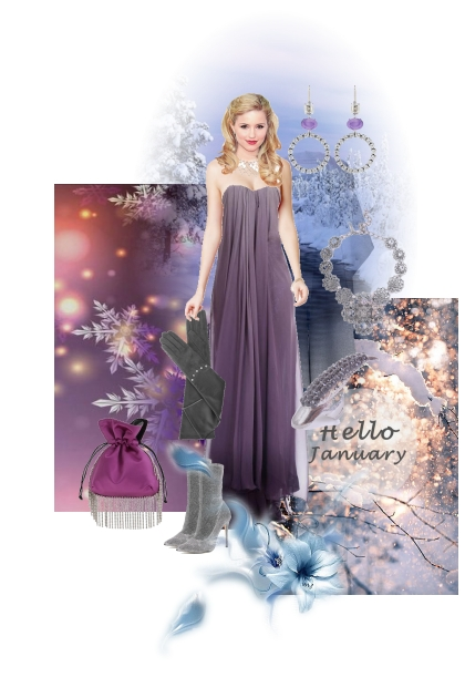 Hello January- Fashion set