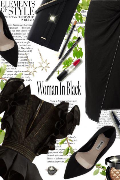 Woman in Black!