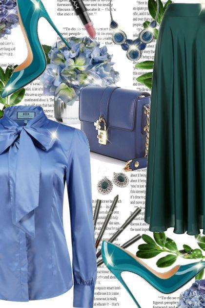 Blue & Green!